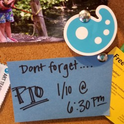 PTO sign
