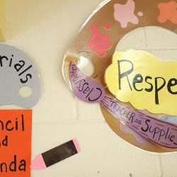 classroom management respect poster