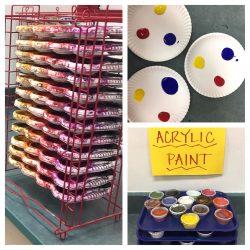 paint set up
