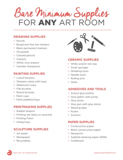 https://artofed-uploads.nyc3.digitaloceanspaces.com/2017/08/Bare-Minimum-Materials-for-Any-Art-Room.pdf