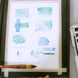 Watercolor Painting Basics