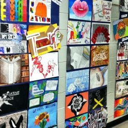School-Wide Art Display