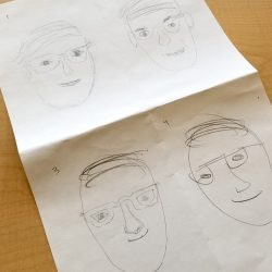 student timed drawings