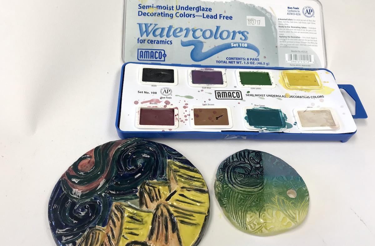 6 Different Ways To Use Underglazes With Ceramics The Art Of Education University