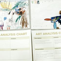 Showcasing Student Artwork