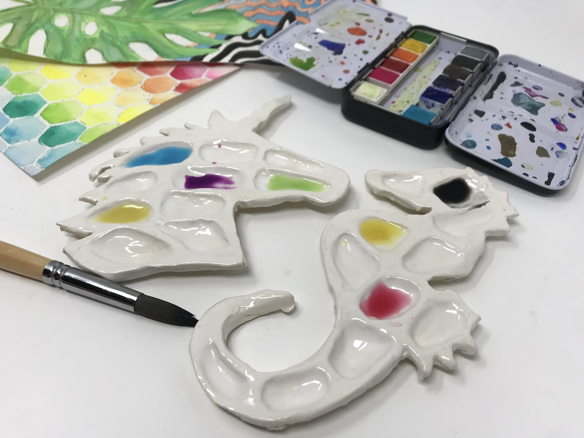 Why Your Students Should Create Ceramic Paint Palettes The Art Of Education University