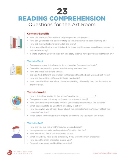 https://artofed-uploads.nyc3.digitaloceanspaces.com/2020/01/63.223ReadingComprehensionQuestionsForArtRoom.pdf