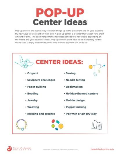 https://artofed-uploads.nyc3.digitaloceanspaces.com/2020/04/66.2-PopUpCenterIdeas.pdf