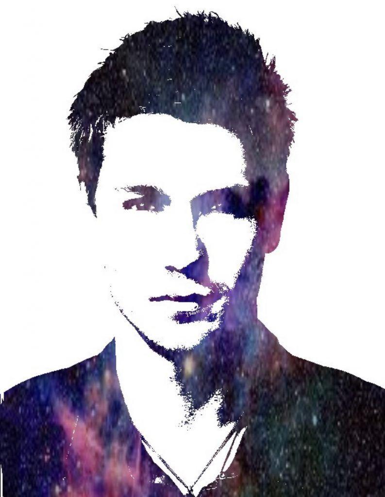 Portrait with Galaxy effect
