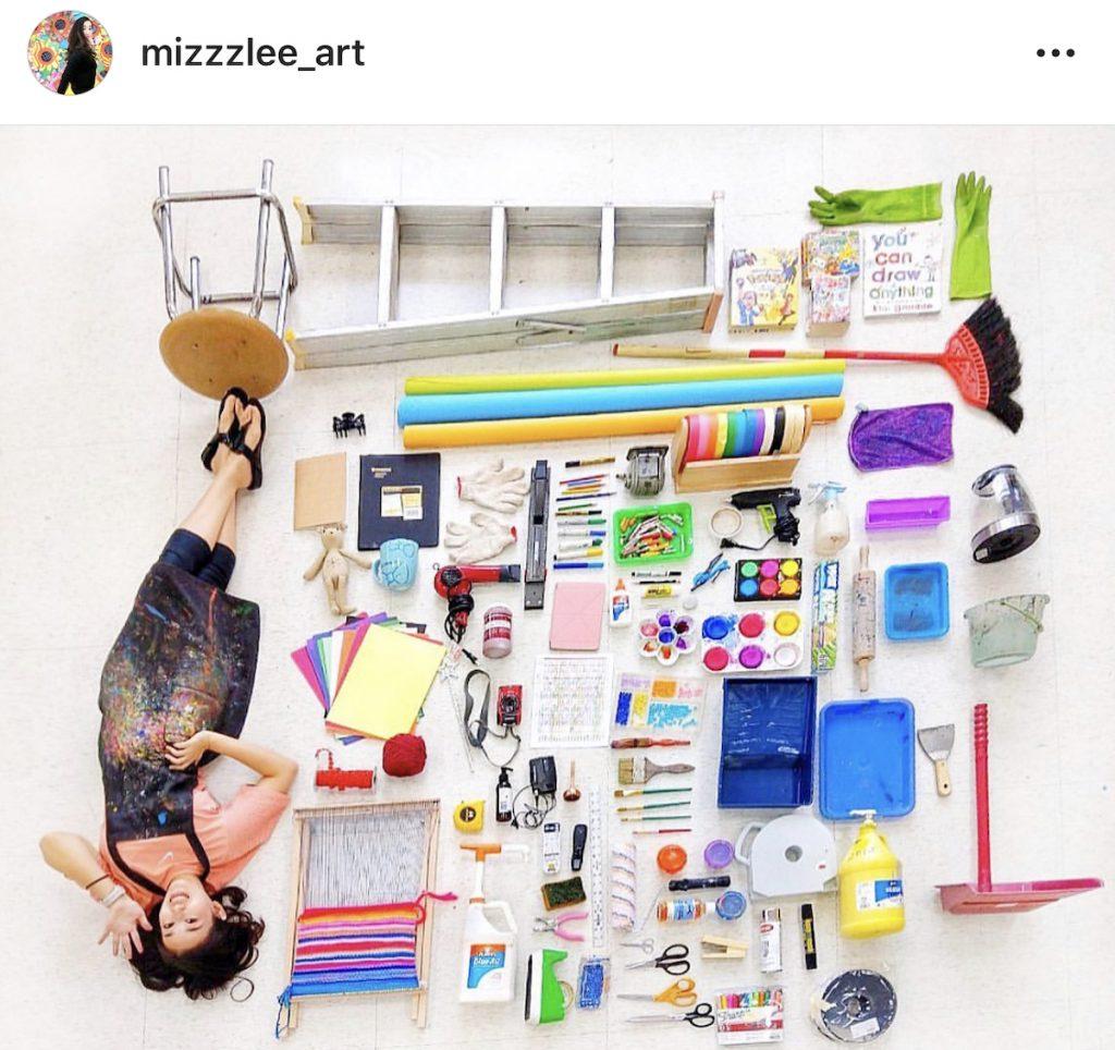 Art teacher on Instagram