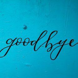 image with goodbye