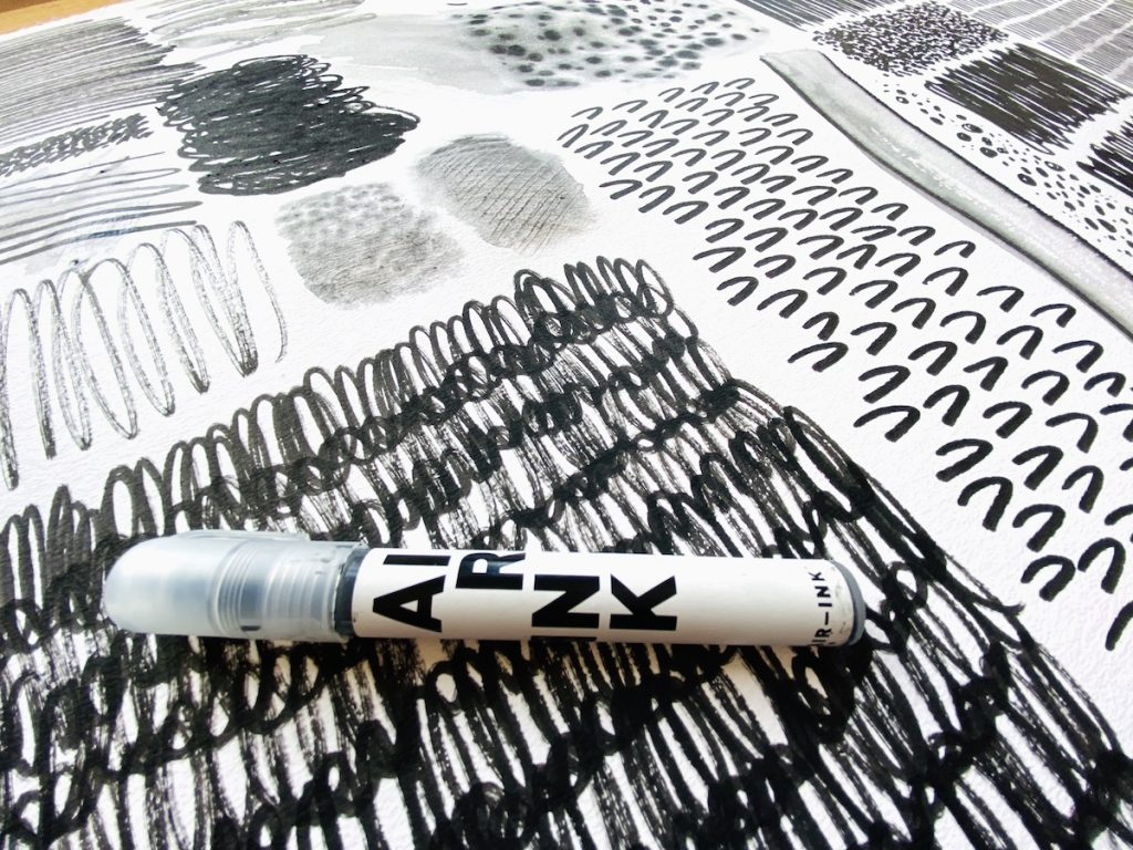Air Ink Marker