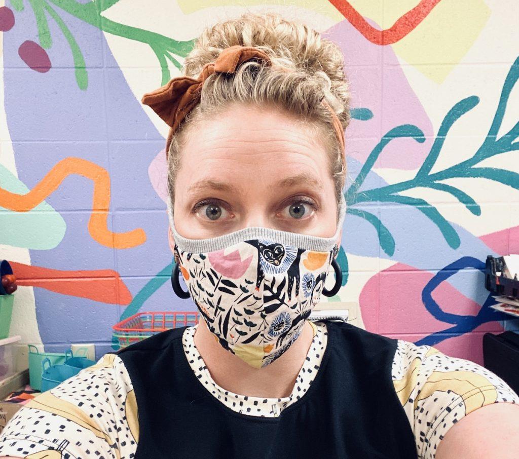 Teacher with Mask