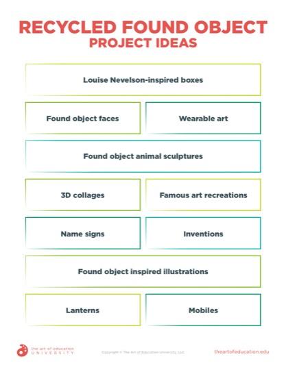 https://artofed-uploads.nyc3.digitaloceanspaces.com/2020/09/78.3RecycledFoundObjectProjectIdeas.pdf
