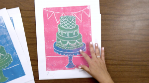 Elementary Printmaking with Simple Materials