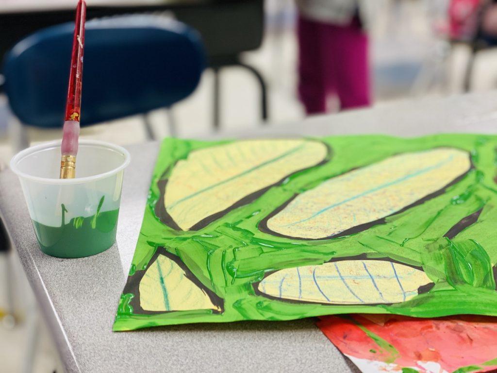 student paint