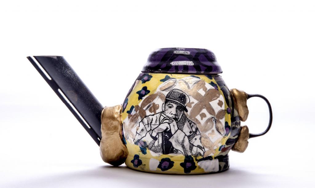 Roberto Lugo Teapot