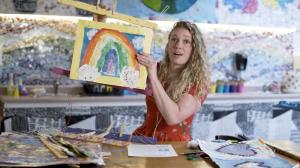 Displaying Elementary Art