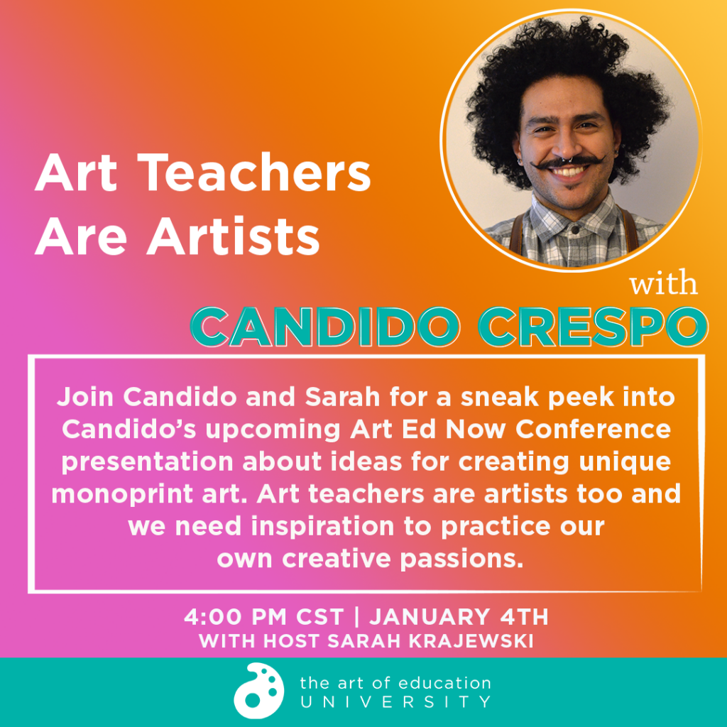 Photo of Candido Crespo with description of Instagram live chat
