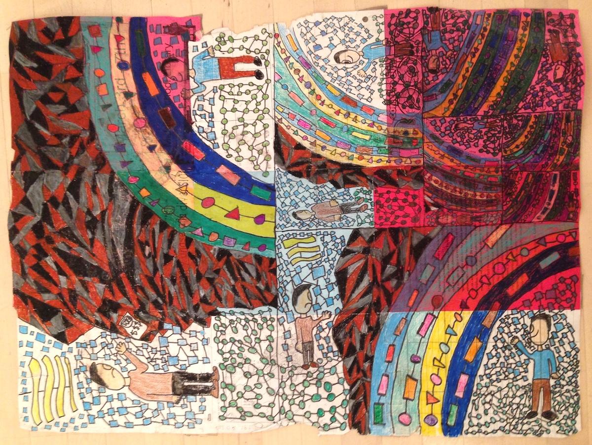 Student artwork of Trauma informed Teaching
