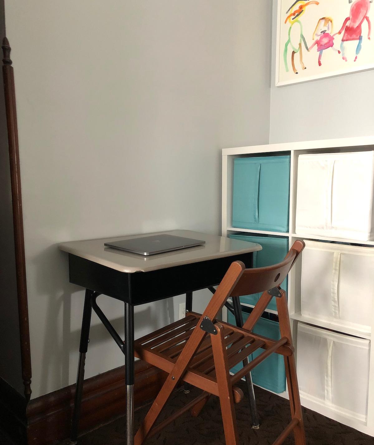 A tiny desk