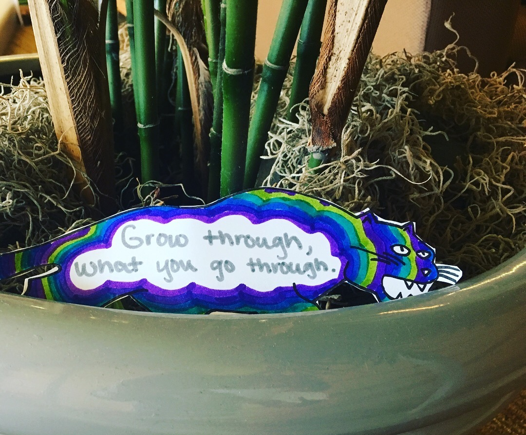a surprising note in a plant