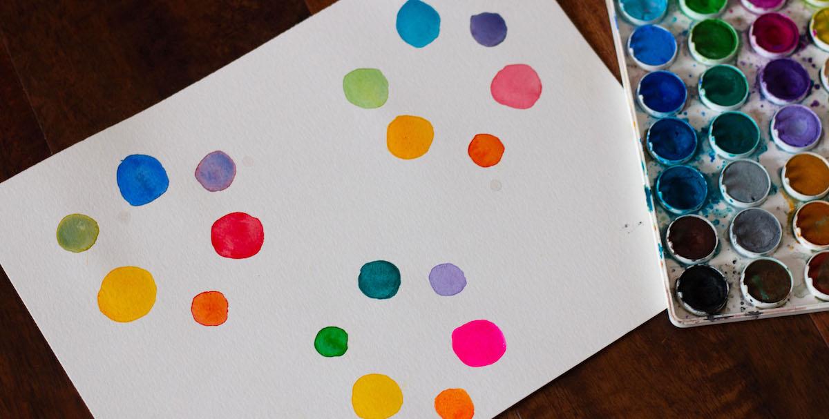 color wheels showing color bias